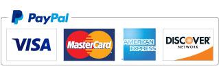 PayPal,VISA,MasterCard,DISCOVER,AMERCAN